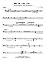 He's Gone Away (An American Folktune Setting for Concert Band) - Timpani Sheet Music