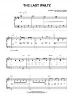The Last Waltz Sheet Music