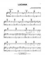 Luciana Sheet Music