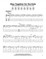 Stay Together For The Kids Sheet Music