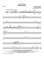 Electricity (from Billy Elliot) - Drums Sheet Music