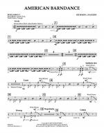 American Barndance - Percussion 3 Sheet Music