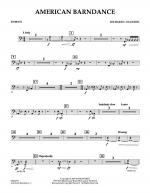 American Barndance - Timpani Sheet Music