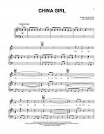 China Girl Sheet Music