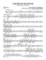 Coldplay on Stage - Percussion 1 Sheet Music