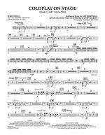 Coldplay on Stage - Percussion 2 Sheet Music