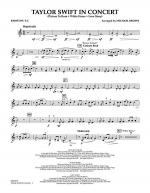Taylor Swift - In Concert - Baritone T.C. Sheet Music