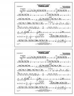 Thriller - Snare Drum Sheet Music