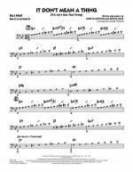 It Don't Mean a Thing (If It Ain't Got That Swing) - Bass Clef Solo Sheet Sheet Music