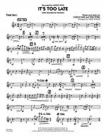 It's Too Late (Alto Saxophone Feature) - Tenor Sax 1 Sheet Music