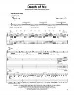 Death Of Me Sheet Music