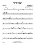 Popular (from Wicked) - String Bass Sheet Music