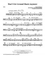 Don't Get Around Much Anymore - Bass Sheet Music