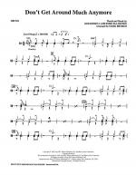 Don't Get Around Much Anymore - Drums Sheet Music