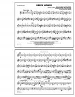 Brick House - Eb Baritone Sax Sheet Music