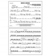 Brick House - Snare Drum Sheet Music