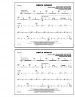 Brick House - Cymbals Sheet Music