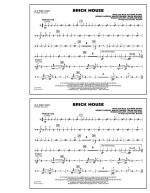 Brick House - Aux Percussion Sheet Music