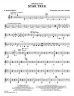 Selections from Star Trek - Bb Bass Clarinet Sheet Music