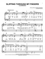 Slipping Through My Fingers Sheet Music