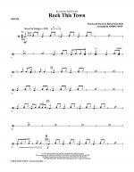 Rock This Town - Drums Sheet Music