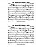 Ain't No Mountain High Enough - Baritone T.C. Sheet Music