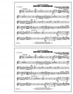 Enter Sandman - Eb Alto Sax Sheet Music