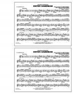 Enter Sandman - Eb Baritone Sax Sheet Music