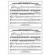 Transformers: Revenge Of The Fallen - Bb Clarinet Sheet Music