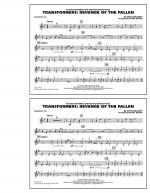 Transformers: Revenge Of The Fallen - Baritone T.C. Sheet Music
