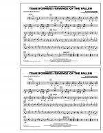 Transformers: Revenge Of The Fallen - Multiple Bass Drums Sheet Music