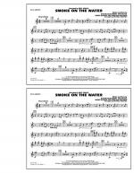 Smoke On The Water - Bb Clarinet Sheet Music