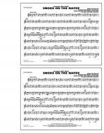 Smoke On The Water - Bb Tenor Sax Sheet Music