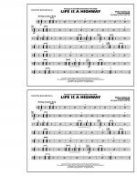 Life Is A Highway - Multiple Bass Drums Sheet Music