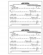 New Divide (from Transformers: Revenge Of The Fallen) - Aux Percussion Sheet Music
