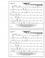 Pump It - Aux Percussion Sheet Music