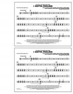 I Gotta Feeling - Multiple Bass Drums Sheet Music