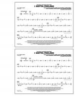 I Gotta Feeling - Aux Percussion Sheet Music