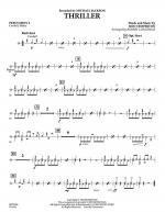 Thriller - Percussion 2 Sheet Music