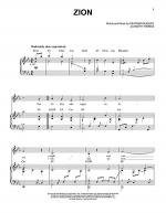 Zion Sheet Music
