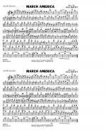 March America - 2nd Bb Clarinet Sheet Music