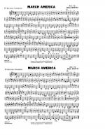 March America - Eb Baritone Sax Sheet Music