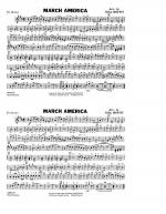 March America - Eb Horn Sheet Music