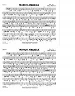 March America - Basses Sheet Music