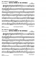 Battle Hymn Of The Republic - 2nd Bb Cornet Sheet Music