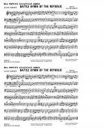 Battle Hymn Of The Republic - 3rd Bb Cornet Sheet Music
