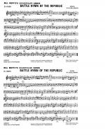 Battle Hymn Of The Republic - Eb Horn Sheet Music