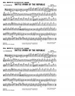 Battle Hymn Of The Republic - 1st Trombone Sheet Music
