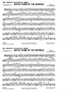 Battle Hymn Of The Republic - Baritone B.C. Sheet Music