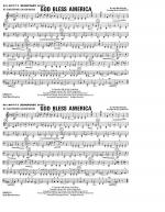 God Bless America - Eb Baritone Sax Sheet Music